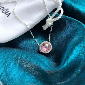 Pandora Jewelry - 🎆NWT Pink Heart Of The Ocean Chain Necklace
